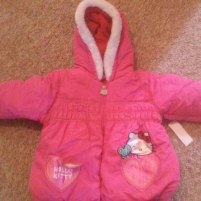 24a7a79a1 Best Rebuced Brand New With Tags Hello Kitty Toddler Girls 3t Winter Puffer  Jacket for sale
