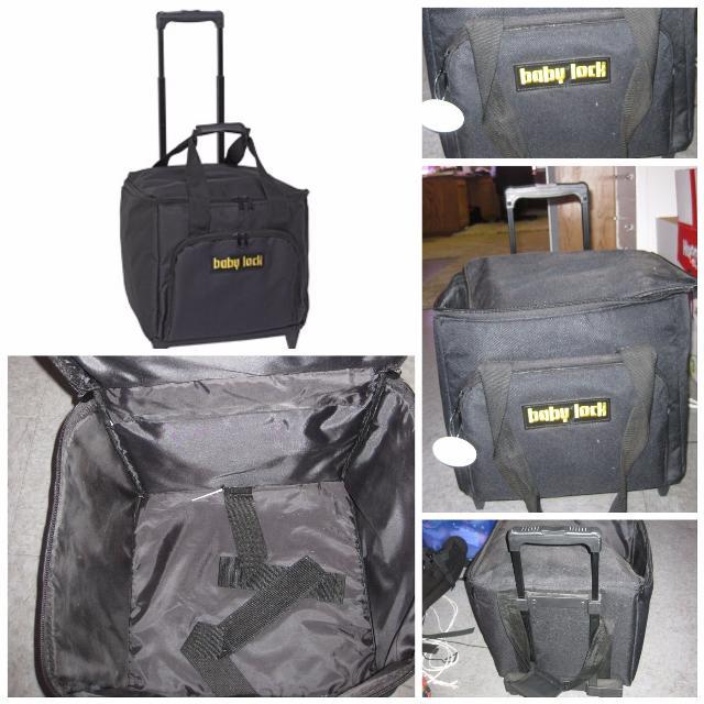 Babylock Serger travel/storage case on wheels