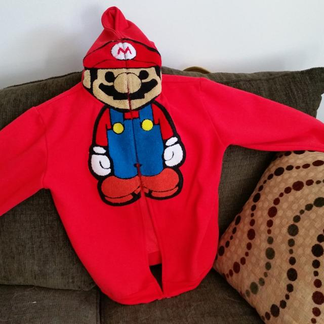 fe1a48fd69fd Best Baby Milo Mario Red Hoodie Rare Askingzipper Emblem No Longer  Attached. for sale in Calgary
