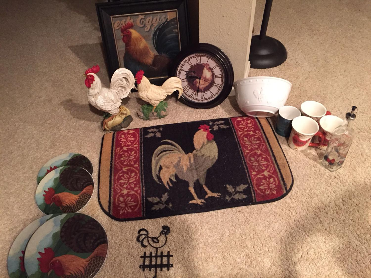 Find More Rooster Decorations And Kitchen Items For Sale For Sale At