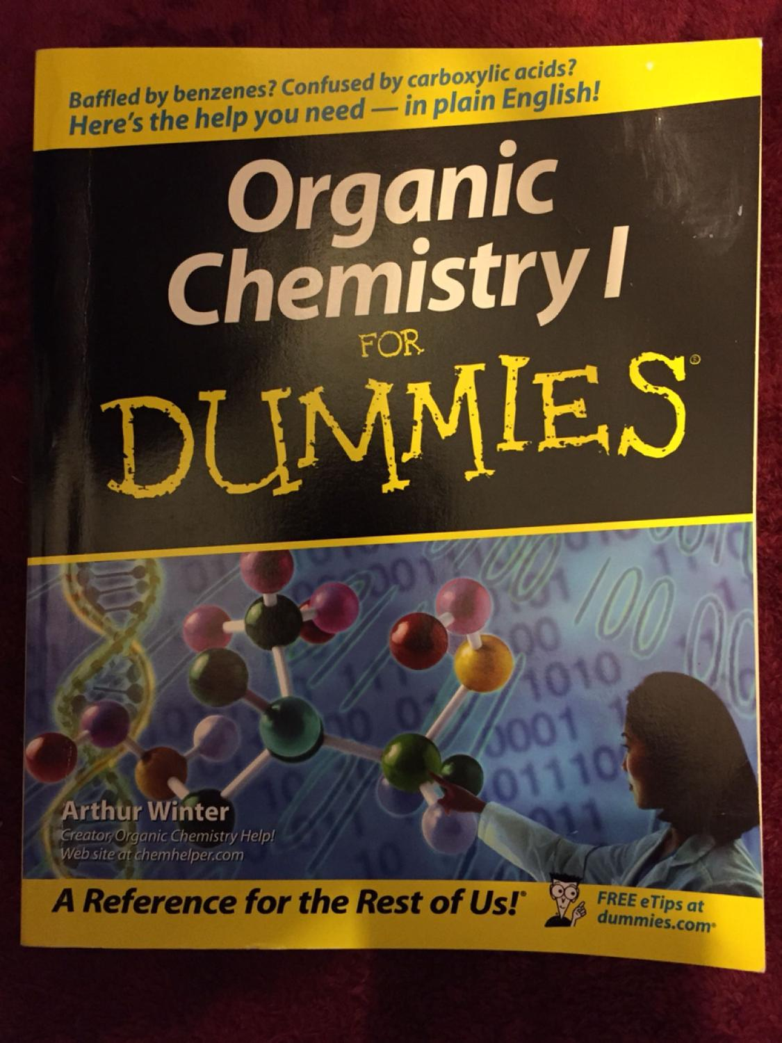Find More Organic Chemistry I For Dummies Sale At Up To 90 Off
