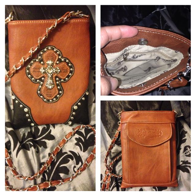 Rustic Couture Crossbody Purse