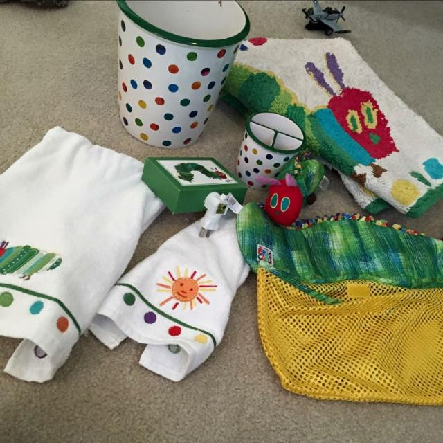 Best Pottery Barn Kids Very Hungry Caterpillar Bathroom Set For In Marietta Georgia 2019