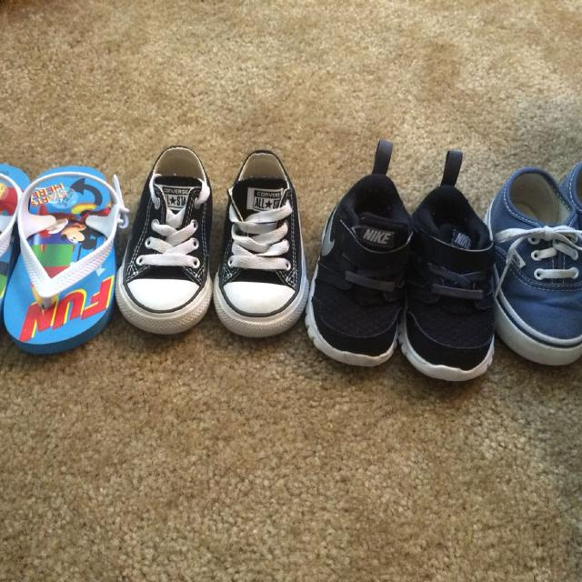 a8de89a9e0 Best Toddler Size 5 Shoes. Nike  Vans And Converse .. Great Condition for  sale in Corona