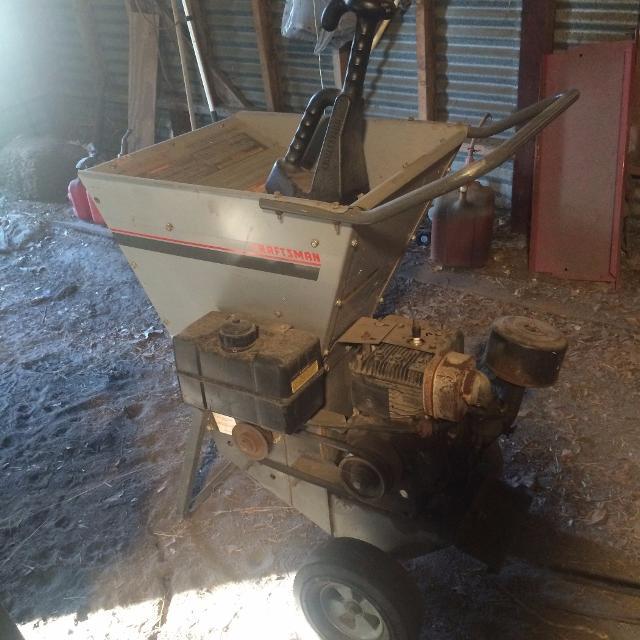 Best Update Craftsman 8 Hp Wood Chipper Shredder For Sale In Brenham Texas For 2021