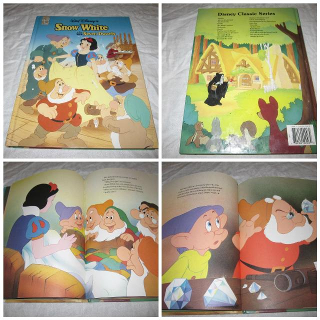 SNOW WHITE AND THE SEVEN DWARVES - MOUSEWORKS - DISNEY CLASSIC STORY BOOK