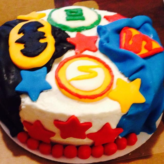 Best Justice League Birthday Cake With Buttercream And Fondant All Cakes Made To Order Custom Designed For Sale In Houston Texas 2019
