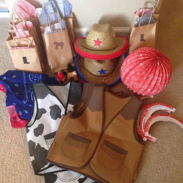 Find more Lot Of Cowboy cowgirl Party Supplies. All Items Came From ... fc1438f39b7