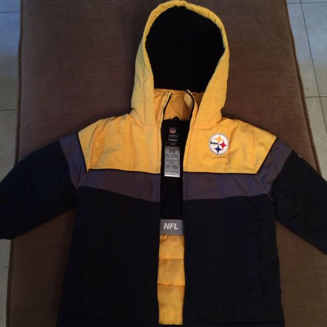 100% authentic a6ad2 e4098 Best Size 3t - Boys Reebok Nfl Pittsburgh Steelers Winter ...
