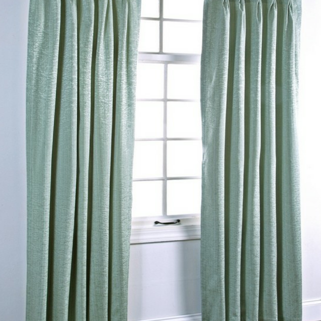 4 Mint Green Blackout Curtain Panels