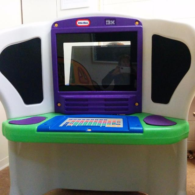 Find more Little Tikes Young Explorer Toddler Computer for sale at ...