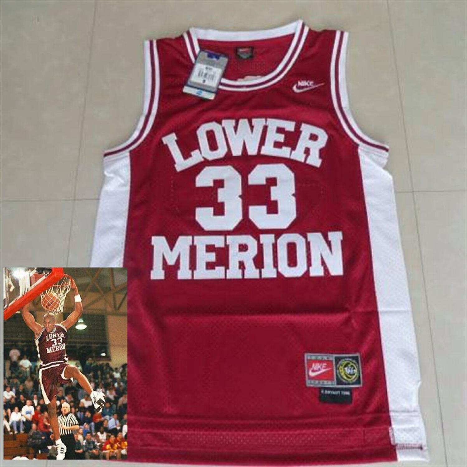 wholesale dealer 6b091 3aaa2 Nike Kobe Bryant lower merion (high school) jersey, size 3xl, it does not  come with tags but still barely worn as shown here or best offer