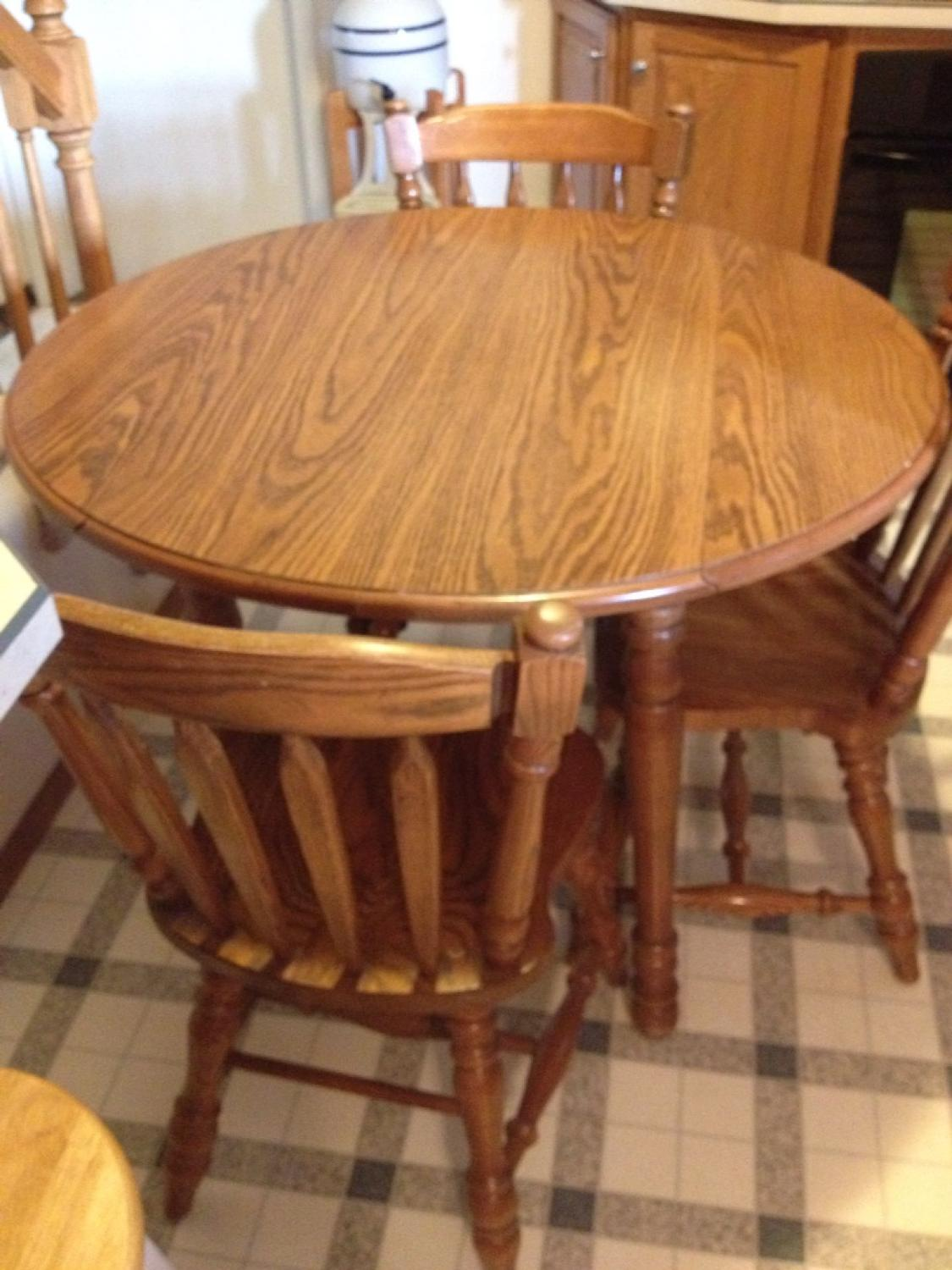 Best Virginia House Oak Table And Chairs For In Morton Illinois 2019