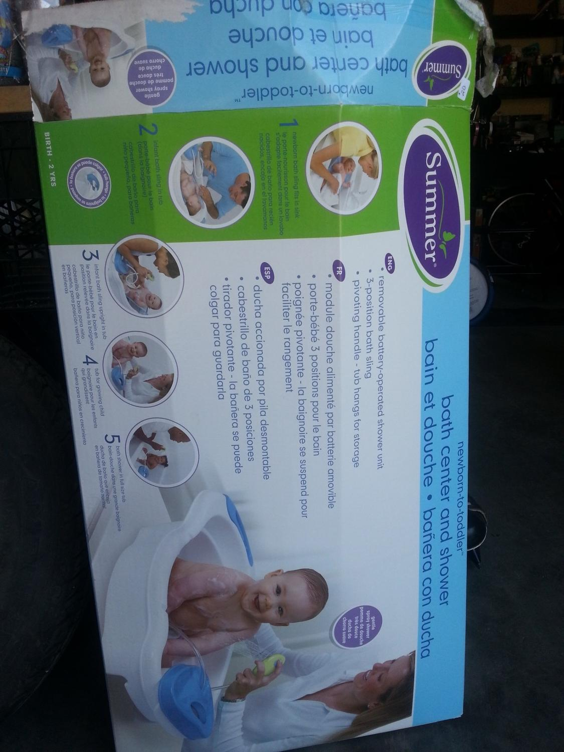 Find more Very Gently Used Baby Bath And Shower Centre for sale at ...
