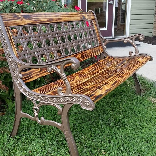 Find More Custom Refurbished Antique Park Bench For Sale At Up To 90 Off Overland Park Ks