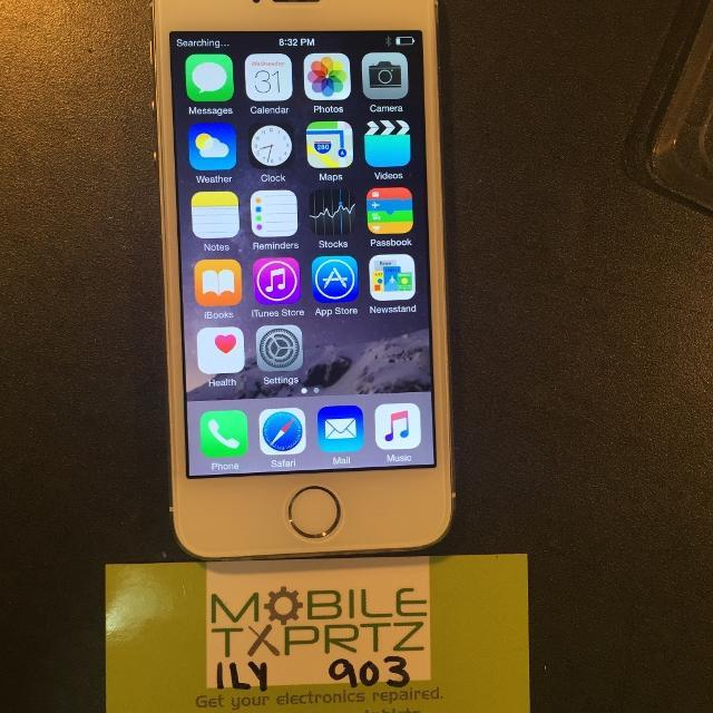 UNLOCKED iphone 5 s GOLD