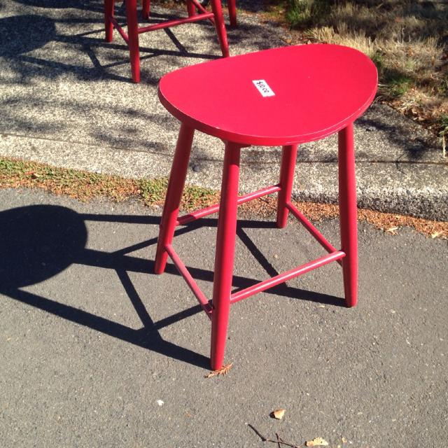 3 Red Bar Stools Wooden Fred Meyer 50 Stool Ing For 10