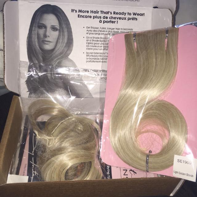 Find More New Secret Extensions Light Golden Blonde For Sale At