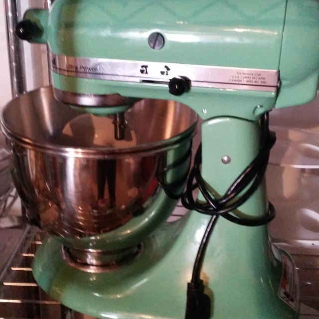 Find More Mint Or Sea Foam Green Kitchenaid Mixer For Sale At Up To