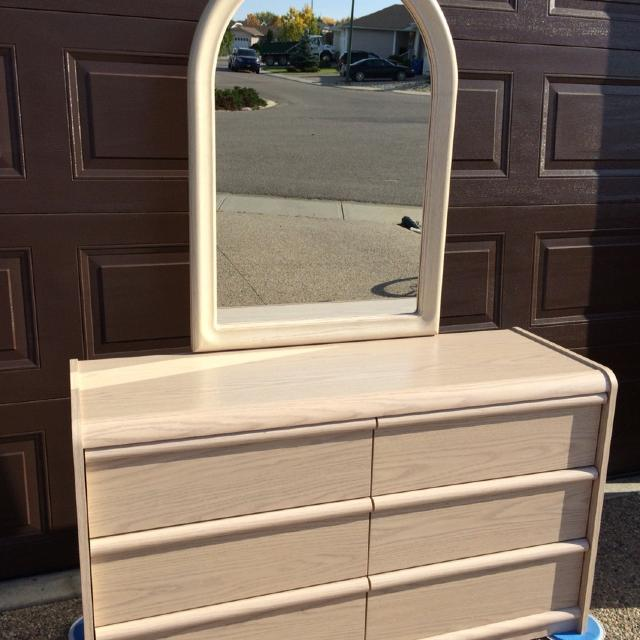 Find More Palliser Double Dresser With Mirror For Sale At Up To