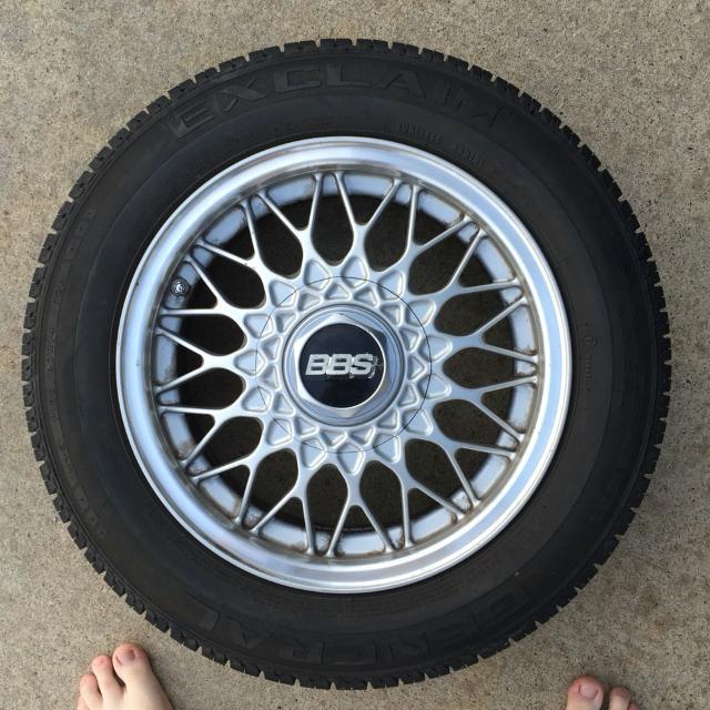 14 inch BBS wheels 4x100