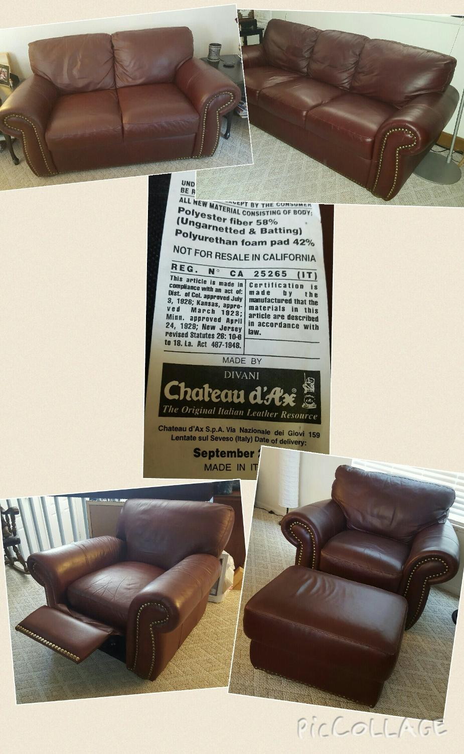 Divani chateau d ax leather sofa - Find More Divani Chateau D Ax Leather Furniture For Sale At Up To 90 Off Parker Co