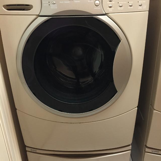 Kenmore Elite He4t Front Loading Washer Dryer W Pedestals More Pics In Comments