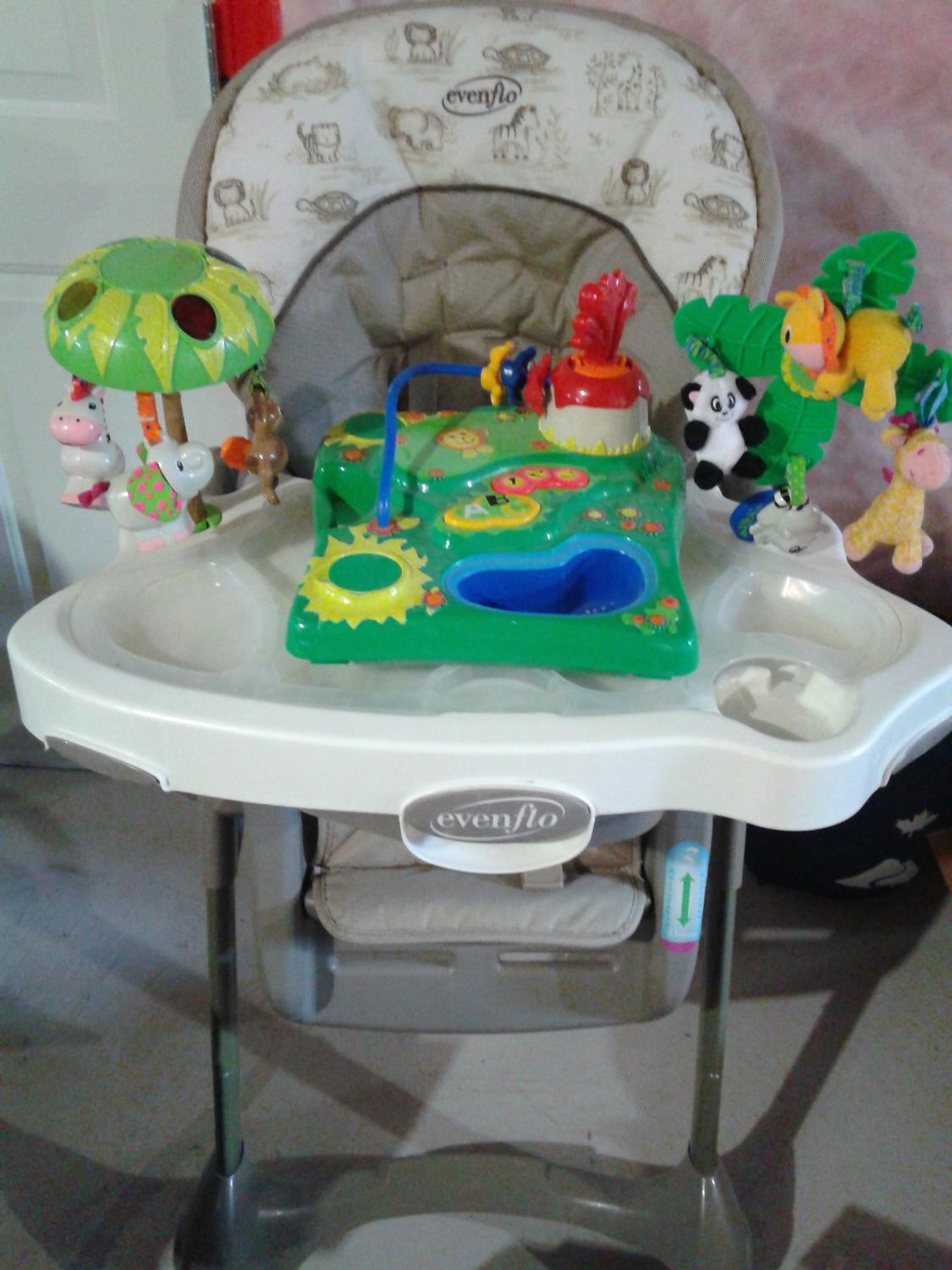 Evenflo majestic high chair - Find More Evenflo Majestic Jungle High Chair For Sale At Up To 90 Off Stouffville On