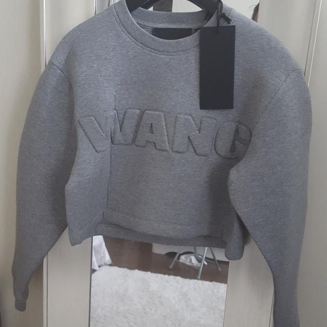 2950aafb303e Find more Alexander Wang X H&m Cropped Sweater Xs for sale at up to ...