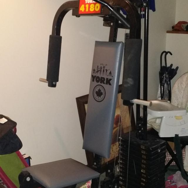 Find more york home gym used i don t want move it