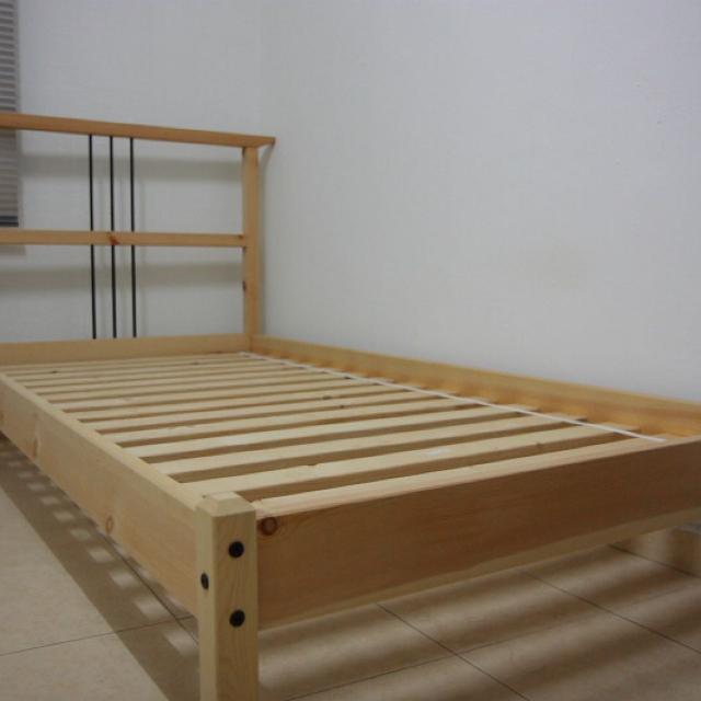 find more single bed frame ikea dalselv for sale at up to 90 off. Black Bedroom Furniture Sets. Home Design Ideas