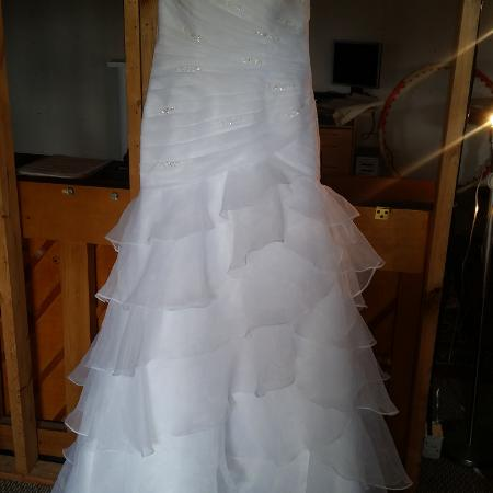 REDUCED Mermaid lace up Wedding dress for sale  Canada