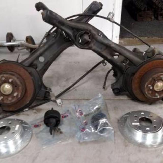 Best 88-00 Honda Civic Rear Disc Brake Conversion For Sale