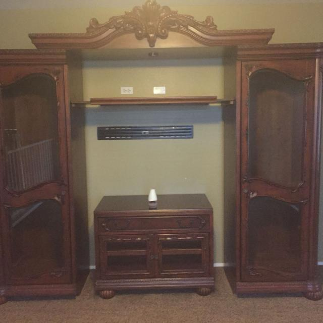 Find More Entertainment Center Side Pieces 26 Wide And 78 Tall