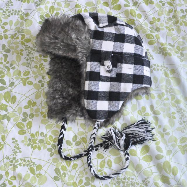 4462425c9 BNWOT American Eagle Outfitters flannel trapper hat