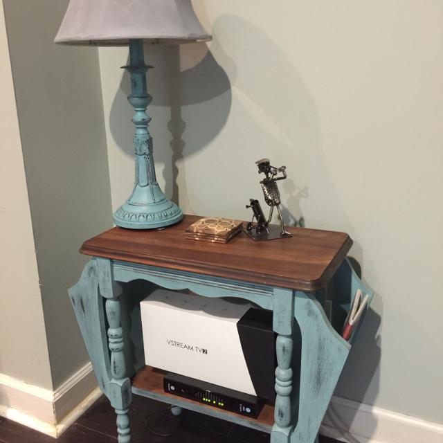 Find more Shabby Chic Vintage Magazine Side Table for sale at up ...