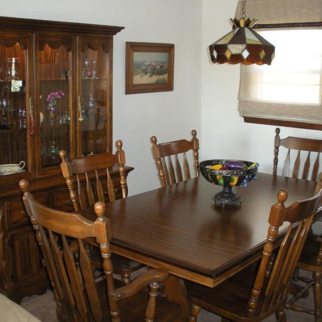 cochrane alamo oak dining room set make offer. beautiful ideas. Home Design Ideas
