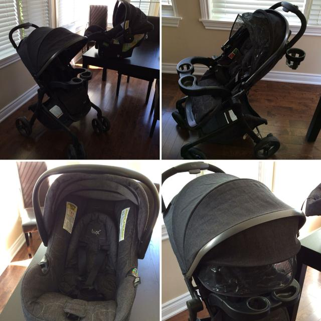 Safety 1st Lux Stealth Travel System