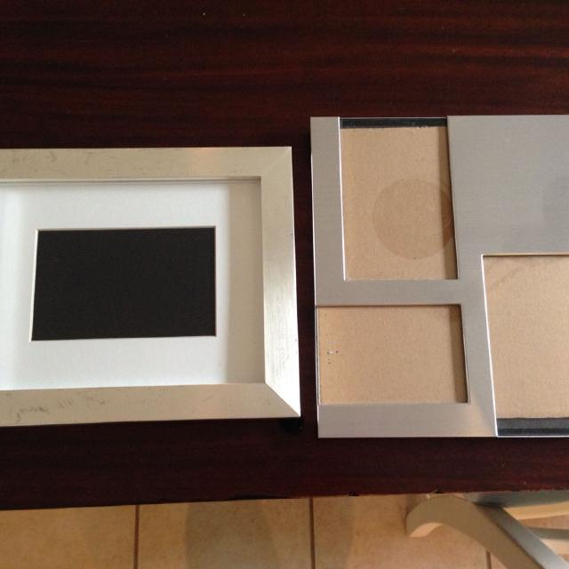 Find More Stainless Picture Frames Pottery Barn Frame On Left 4x6