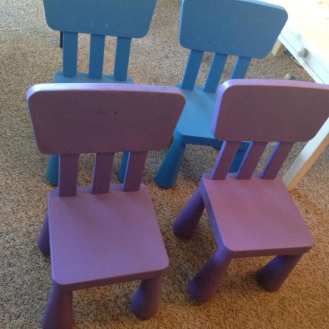 Find More 4 Ikea Mammut Chairs Each Retail For 15 Asking 25