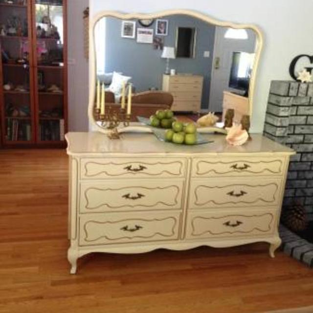 French Provincial Dresser With Mirror Bestdressers 2019