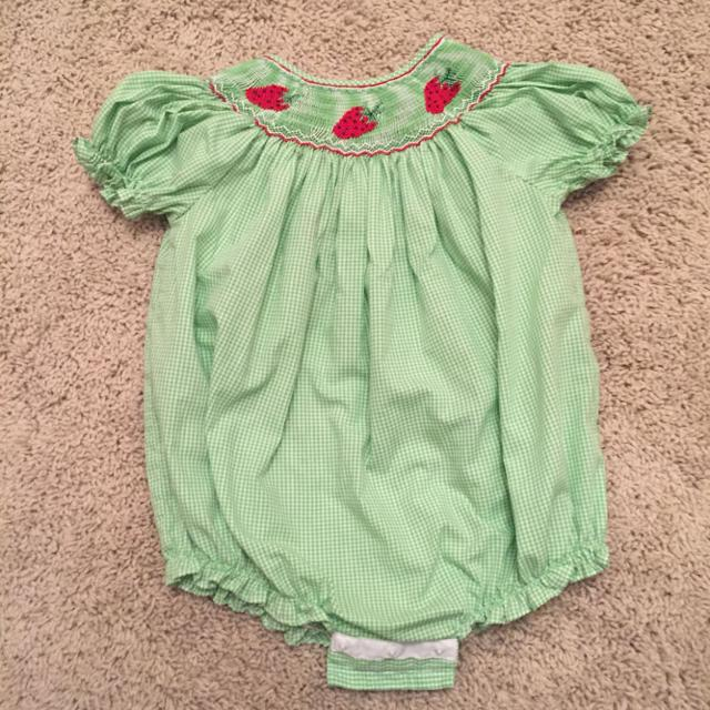 214faacb7f8 Find more 18 Month Rosalina Smocked Bubble Romper for sale at up to ...