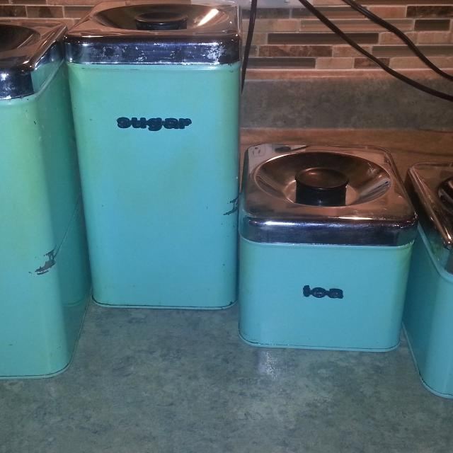 Find More 60 S Retro Kitchen Canisters For Sale At Up To 90 Off