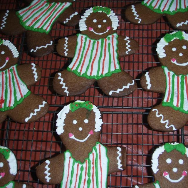 Ginger Decorated Cookies