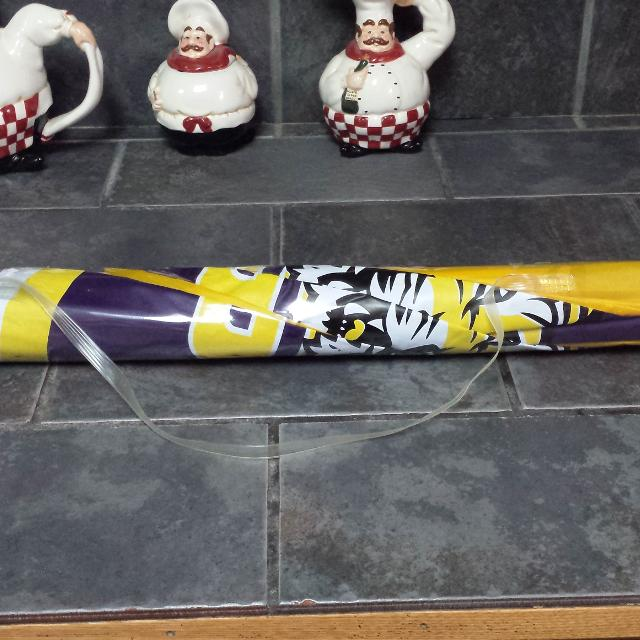 Lsu Beach Umbrella New With Tag Pickup At Swap
