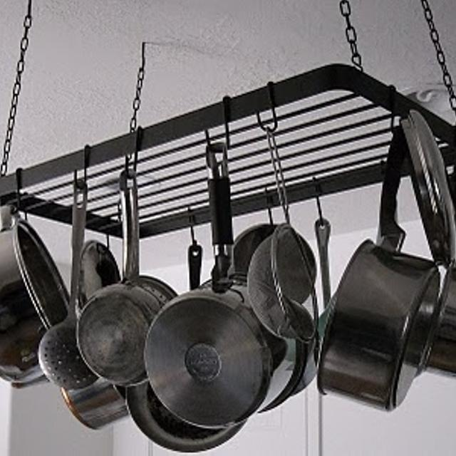 Ikea Hanging Pot Rack