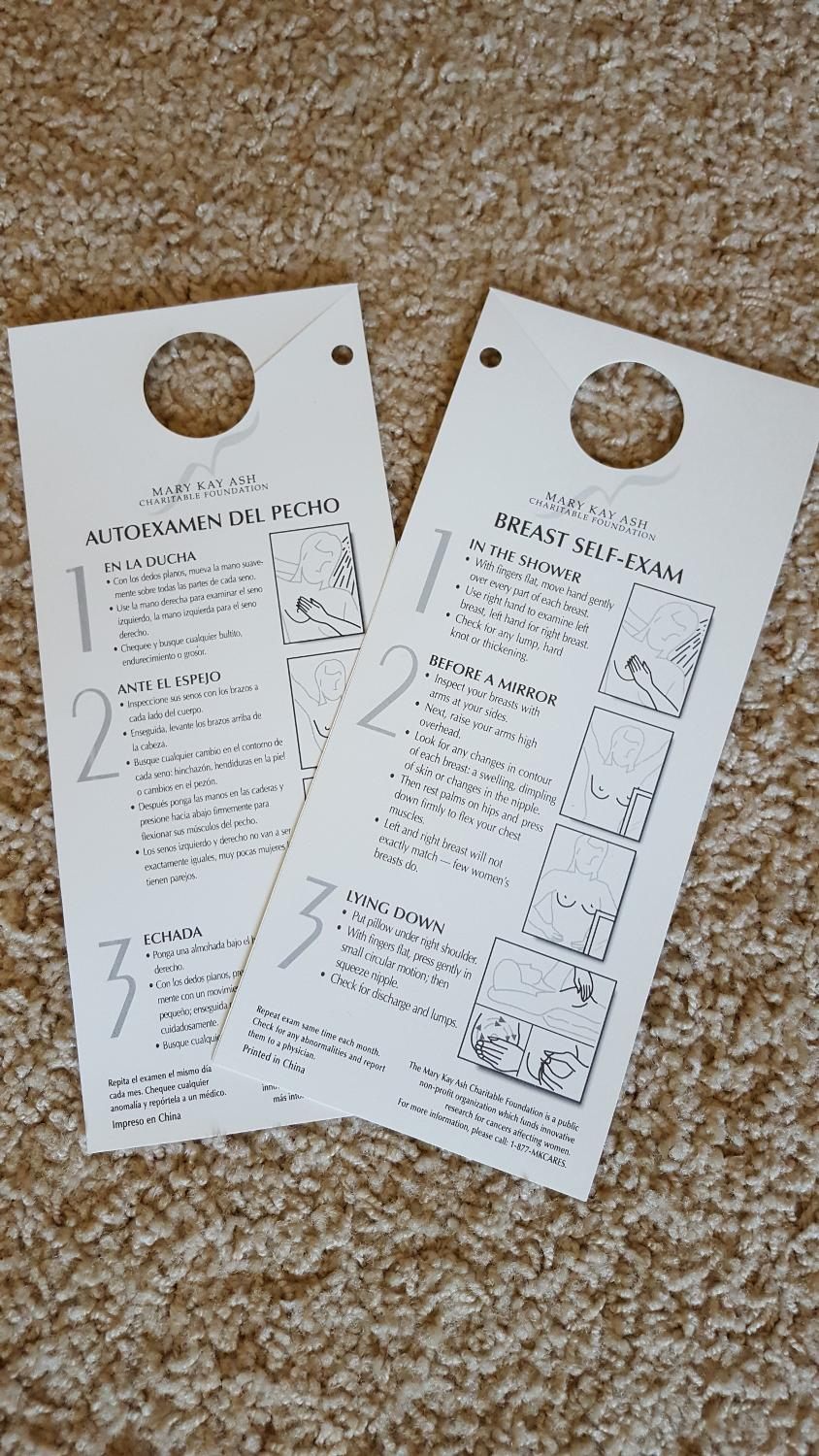 Best Free Breast Self-exam Cards To Hang In Your Shower for sale in  Prosper, Texas for 2019