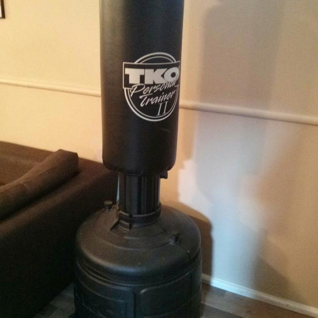 Free Standing Tko Punching Bag Sparring Gloves