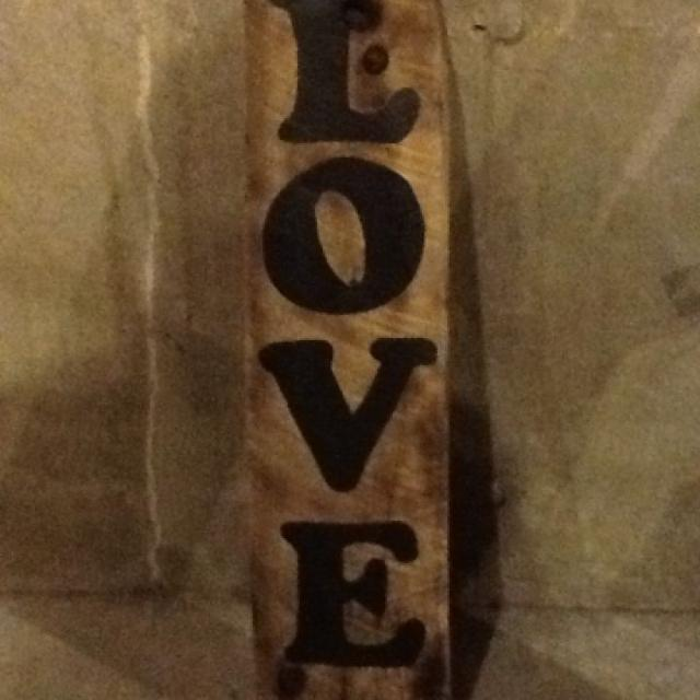 Best Broke N Pallet Craftlove Sign On Thick 1 Inch Boardover