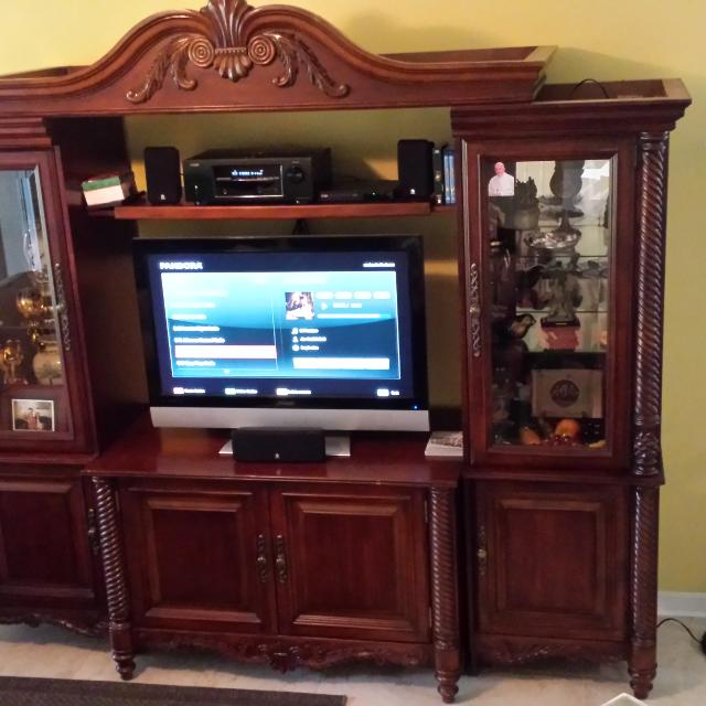 Find More Traditional Solid Wood Wall Unit With Beautiful